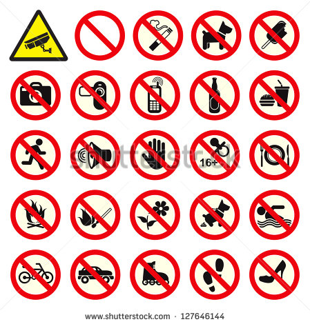 stock-vector-prohibited-no-stop-sign-no-smoking-no-dog-or-pets-no-ice-cream-no-video-no-photo-do-not-touch-127646144