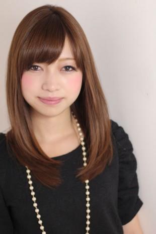 ナチュラル美髪ストレートヘアー